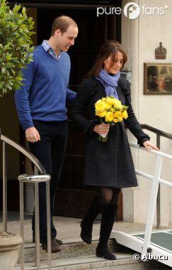 Kate Middleton n'a pas un début de grossesse tranquille