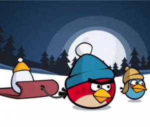 Angry Birds version hiver