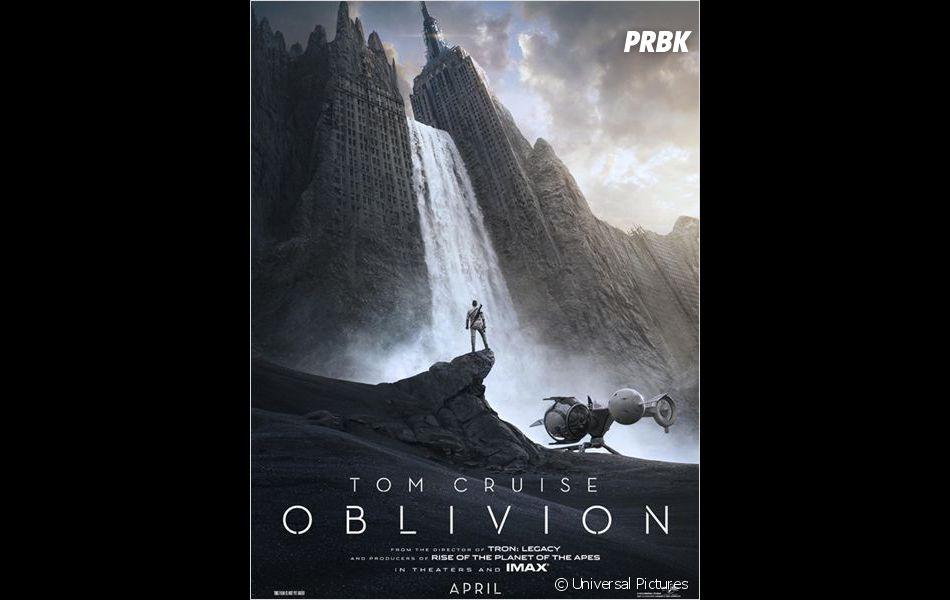 Affiche officielle d'Oblivion