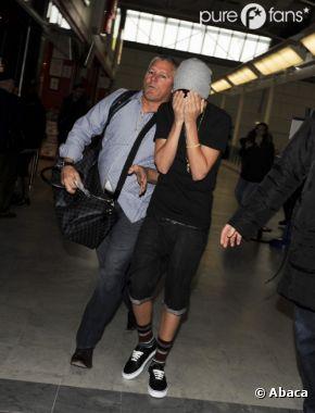 Justin Bieber est toujours pourchassé par les photographes !