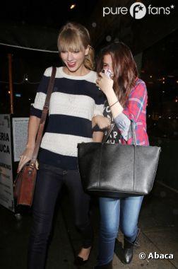Taylor Swift et Selena Gomez se soutiennent après leur rupture