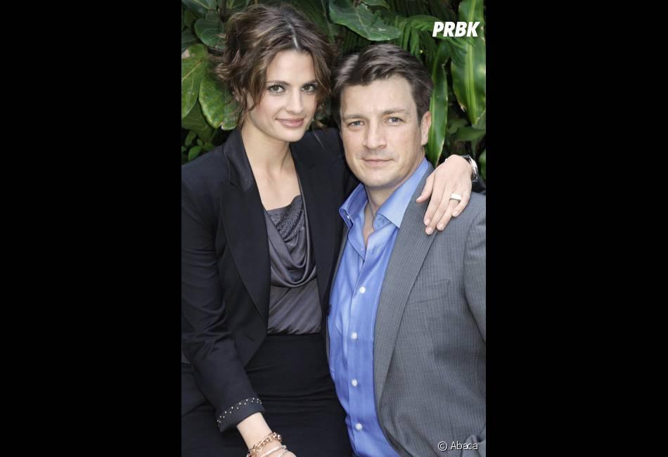 Stana Katic et Nathan Fillion, les deux stars de Castle