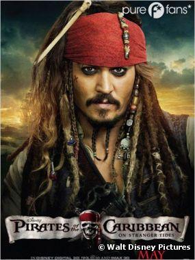 Jack Sparrow de retour au cinéma en 2015