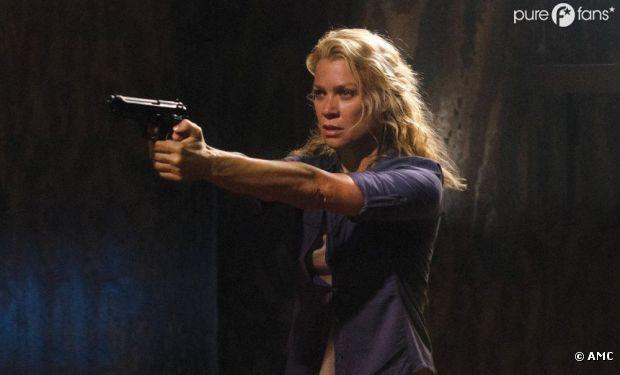 Andrea va utiliser ses neurones dans Walking Dead !