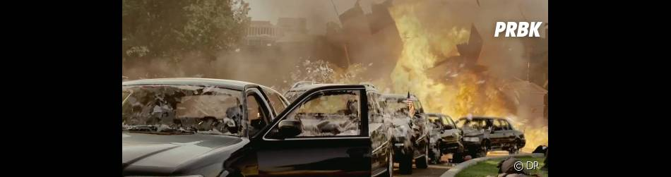 Beaucoup d'explosions dans Olympus Has Fallen