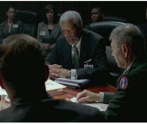 Morgan Freeman en Président dans Olympus Has Fallen