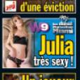 Julia se déshabille pour Entrevue et c'est  hot  !