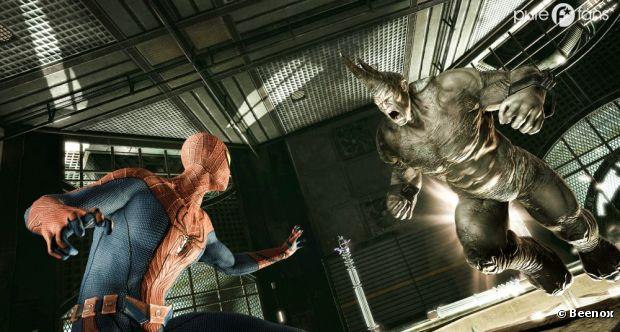 Spiderman contre Le Rhino