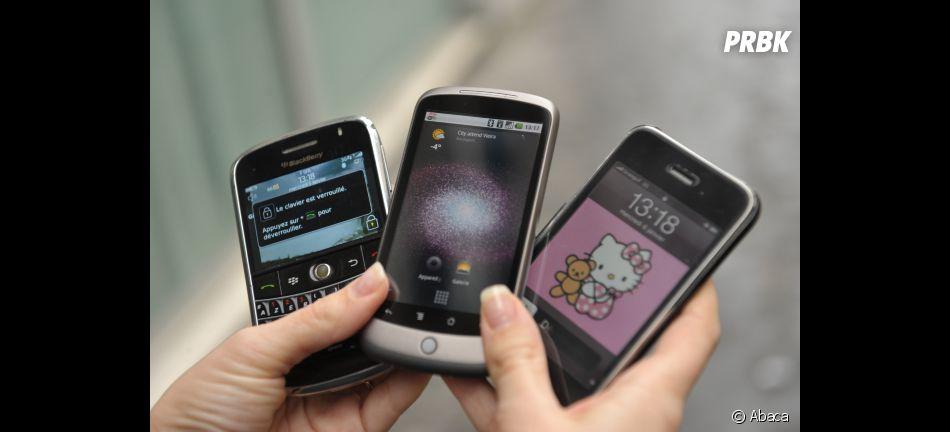 BlackBerry, iPhone, HTC, choisissez !