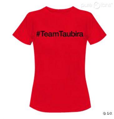 """Le t-shirt """"TeamTaubira"""" pour le """"Mariage pour tous"""""""