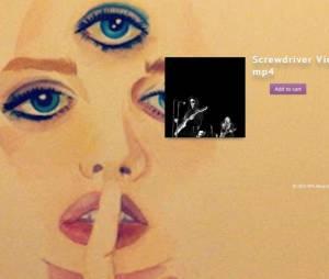 Le clip Screwdriver de Prince est visionnable sur son site en échange de 1,77$.