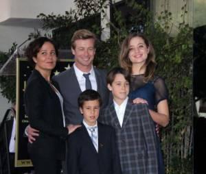 La famille de Simon Baker a assisté à l'inauguration de son étoile