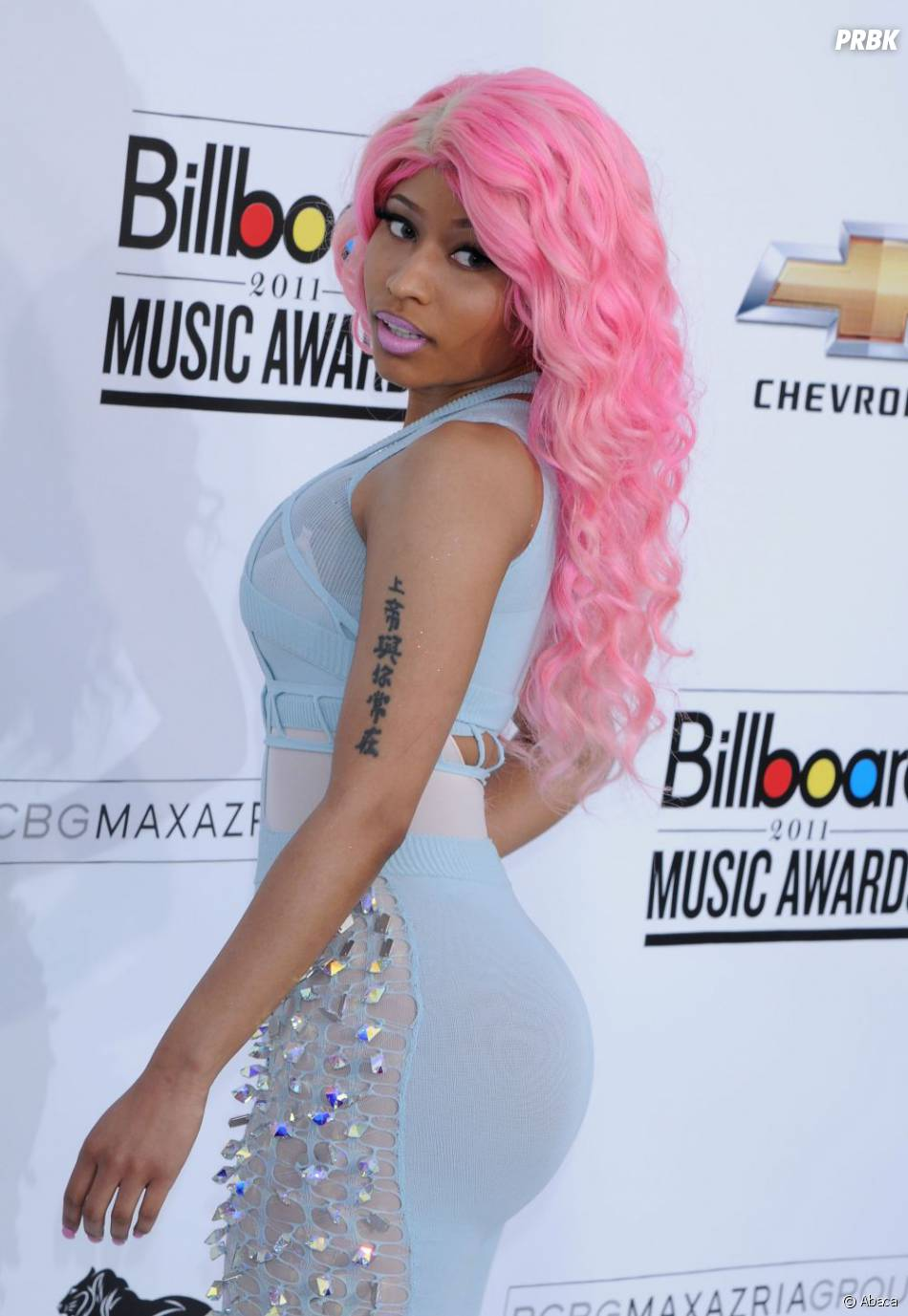 Nicki Minaj met ses fesses en avant dès qu'elle le peut