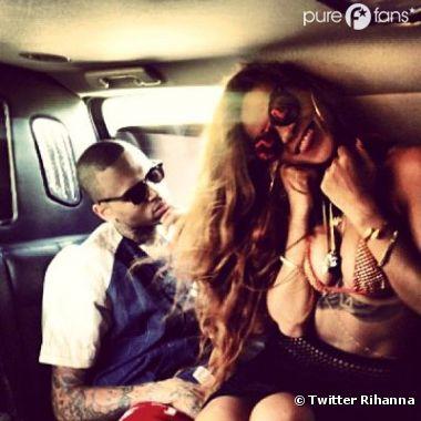 Rihanna n'a pas l'intention de rompre avec Chris Brown