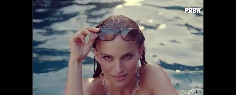 Natalie Portman craquante dans la nouvelle pub Dior