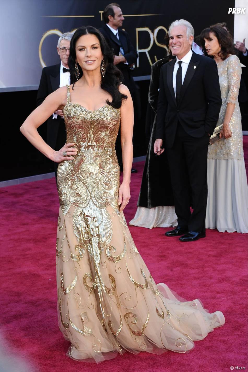 Catherine Zeta-Jones aurait pu faire beaucoup mieux que cette robe  Zuhair Murad !
