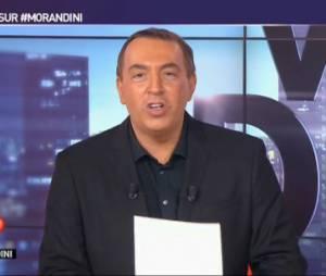 JM Morandini demande aux invités et aux chroniqueurs de quitter le plateau
