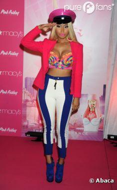 Nicki Minaj n'a jamais eu recours à la chirurgie esthétique...sur son visage