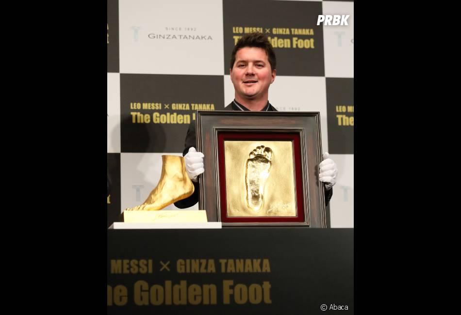 Lionel Messi honoré par un joallier japonais