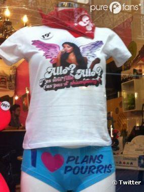 "Les T-Shirt du ""Non mais allo quoi"" de Nabilla"