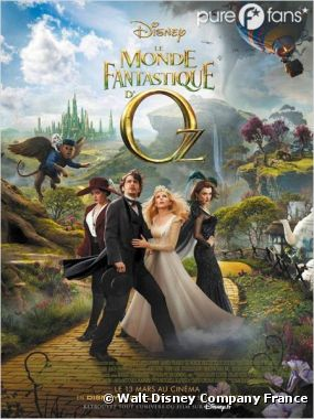 Le Monde Fantastique d'Oz se classe numéro 1 du box-office US pour sa sortie