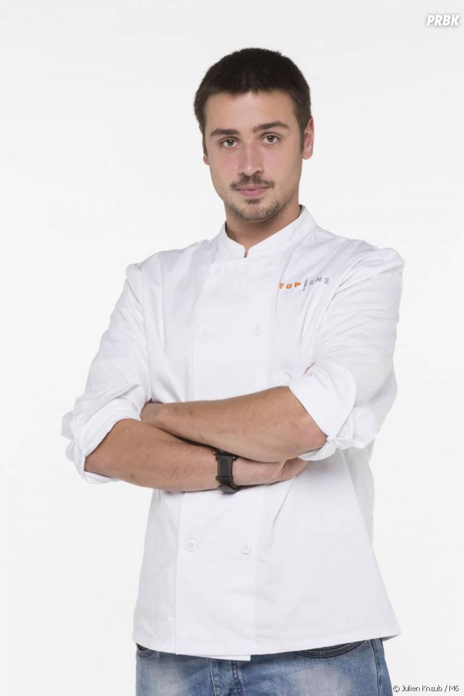 Quentin Bourdy, candidat de Top Chef 2013, se révèle au fur et à mesure