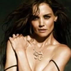 Katie Holmes nue : l'actrice se déshabille pour une marque de bijoux