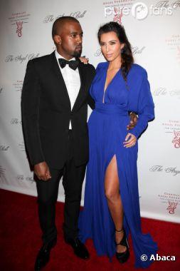 Kanye West a déjà trouvé le prénom de son bébé avec Kim Kardashian