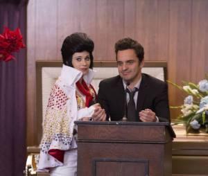 Funérailles placées sous le signe d'Elvis dans New Girl