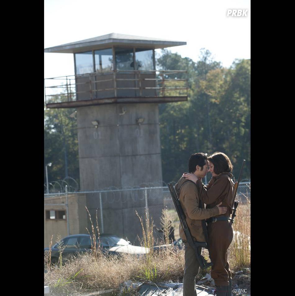 Maggie et Glenn encore plus proches dans Walking Dead