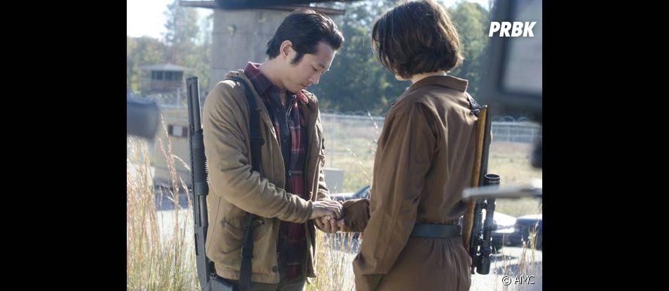 Maggie et Glenn toujours amoureux dans Walking Dead