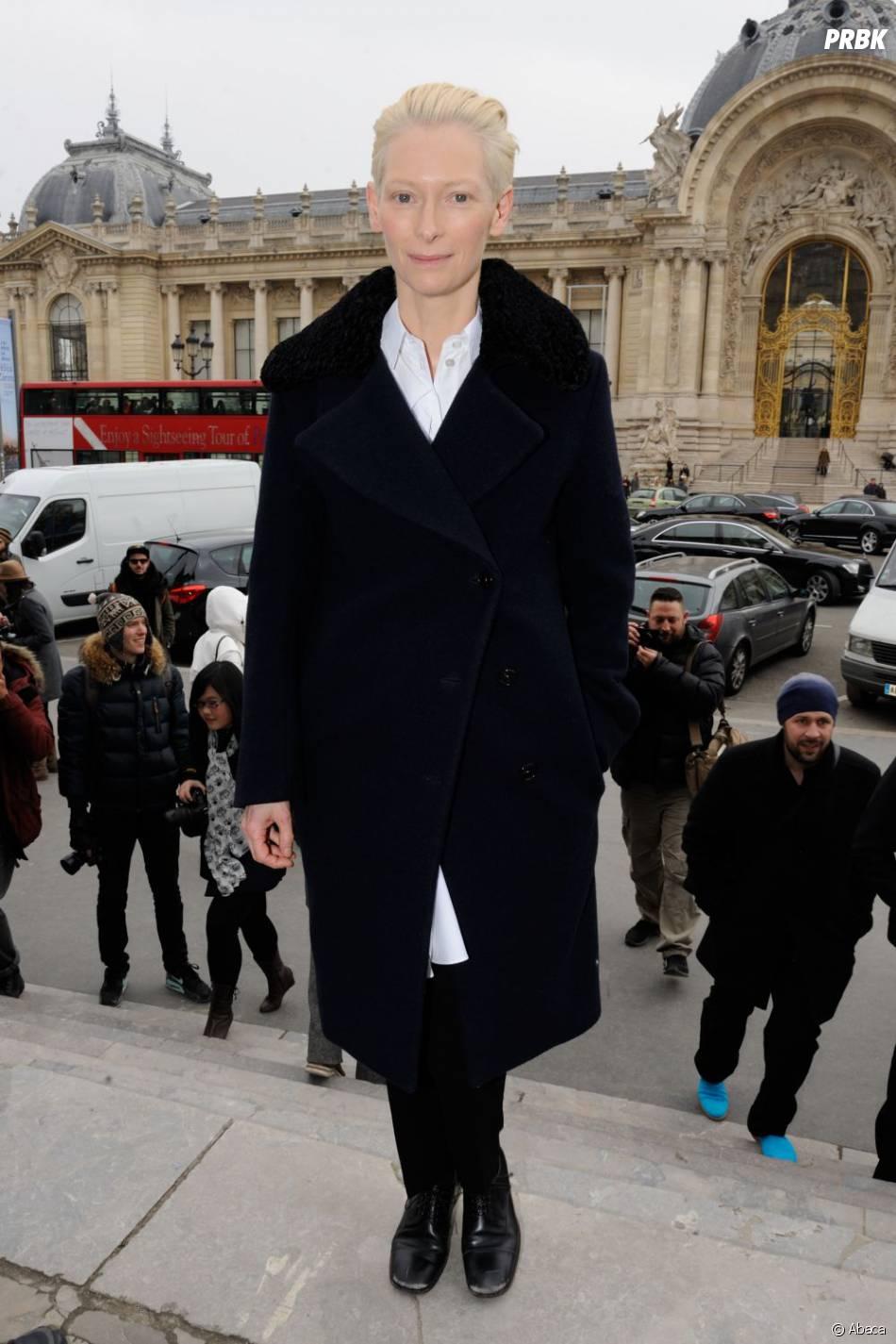 Tilda Swinton a tourné dans le clip The Stars (are out tonight) pour David Bowie en février 2013