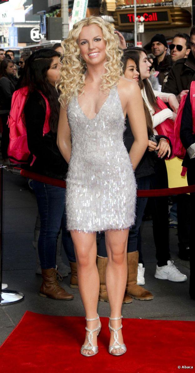 Britney Spears a eu le droit à sa statue de cire au Musée de Madame Tussauds à New York.