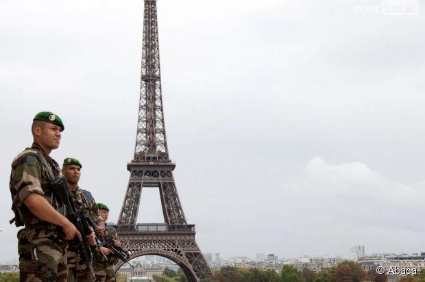 Resultado de imagen de attentat a la tour eiffel