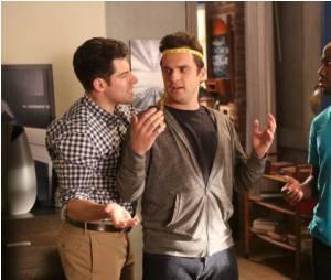 Schmidt va aider Nick à bien s'habiller
