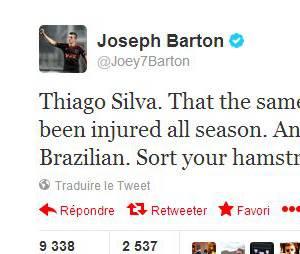 Joey Barton se permet de clasher Thiago Silva