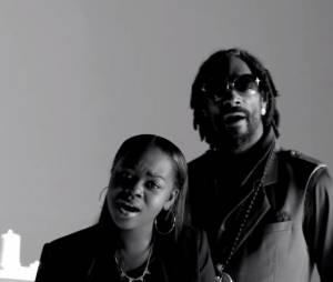 Snoop Lion et sa fille Cori B, dans le clip No Guns Allowed