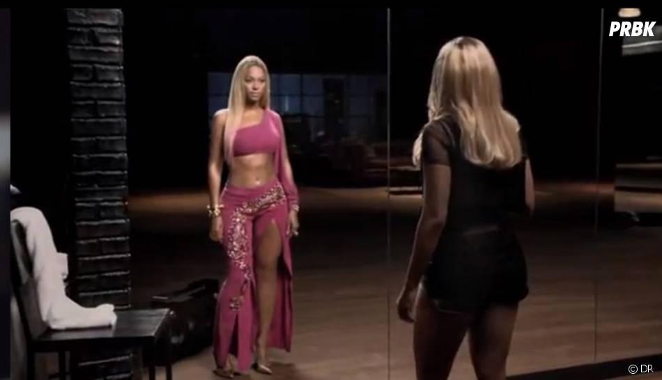 Beyoncé et son double dans le pub Pepsi
