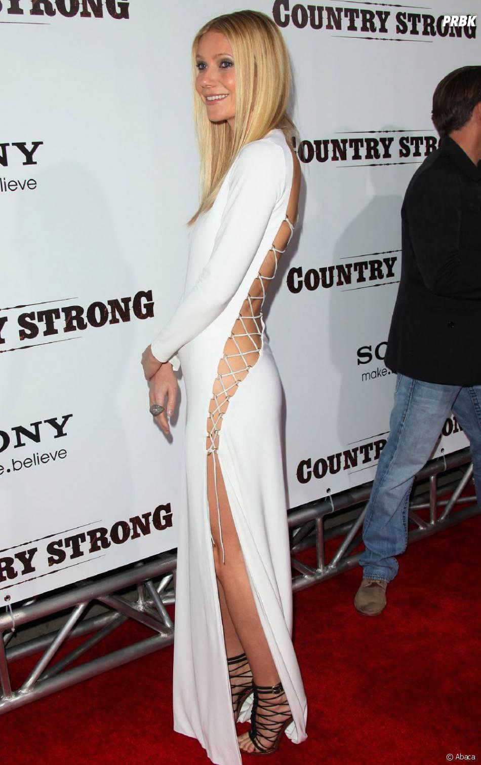 Gwyneth Paltrow n'hésite jamais à exhiber ses formes
