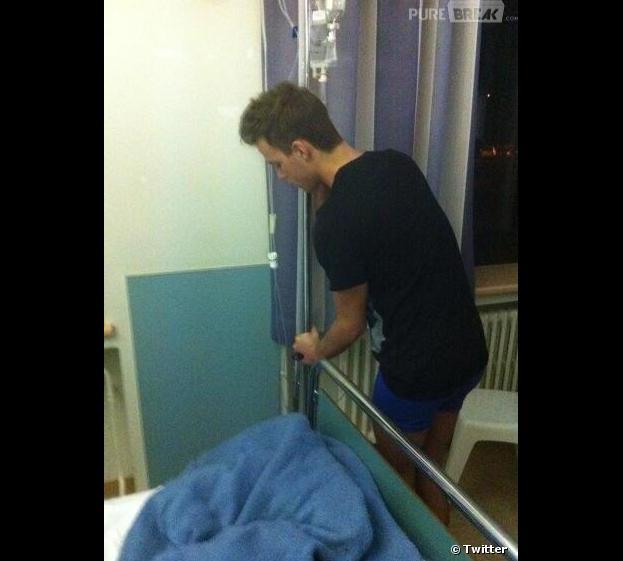 Chris Bieber a posté une photo de lui à l'hôpital, un cliché qui a littéralement choqué sur les réseaux sociaux.