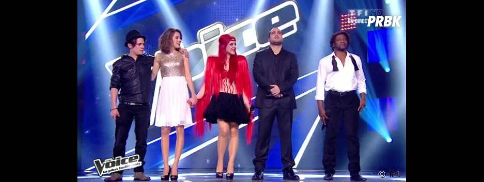 Le groupe de Garou était présent sur le plateau de The Voice 2.