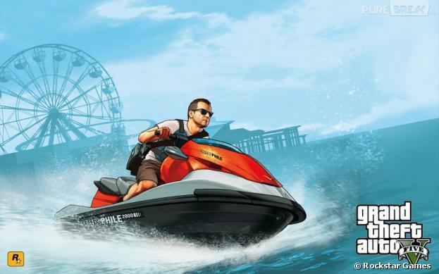 GTA 5 nous promet des séquences aquatiques en jet-ski