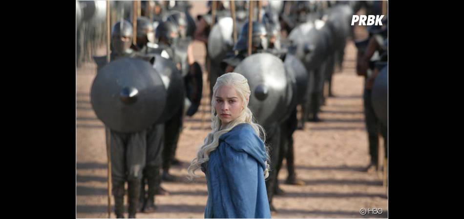 Daenerys au centre d'une scène de bataille ?
