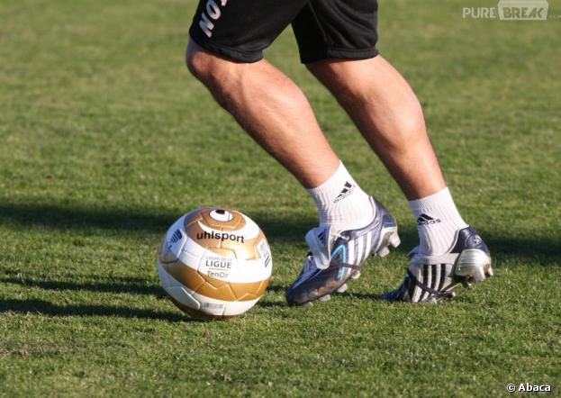 Un joueur de football devient papa et marque trois buts le même jour