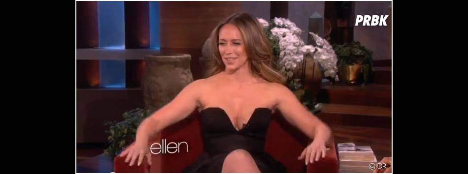 Jennifer Love Hewitt ne veut pas qu'on la regarde dans les yeux