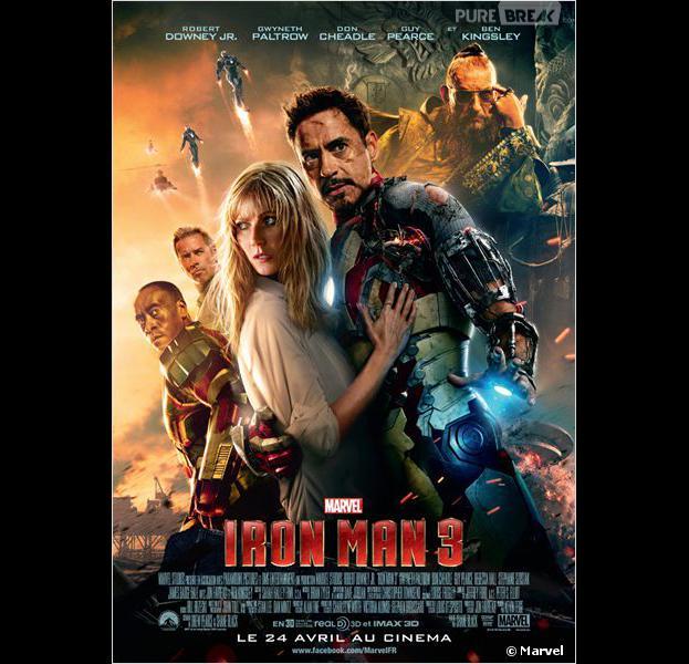 Iron Man 3 est actuellement au cinéma
