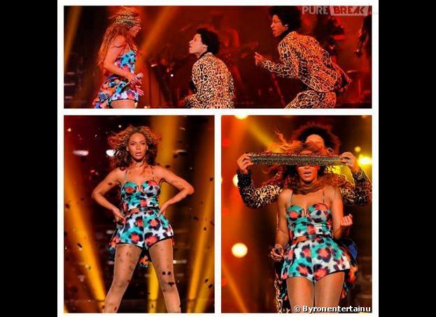 Beyoncé, une bête de scène à Bercy