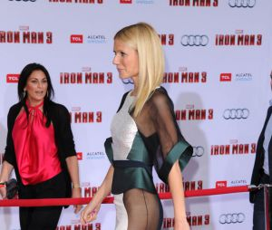 Gwyneth Paltrow ose le transparent pendant l'avant-première d'Iron Man 3