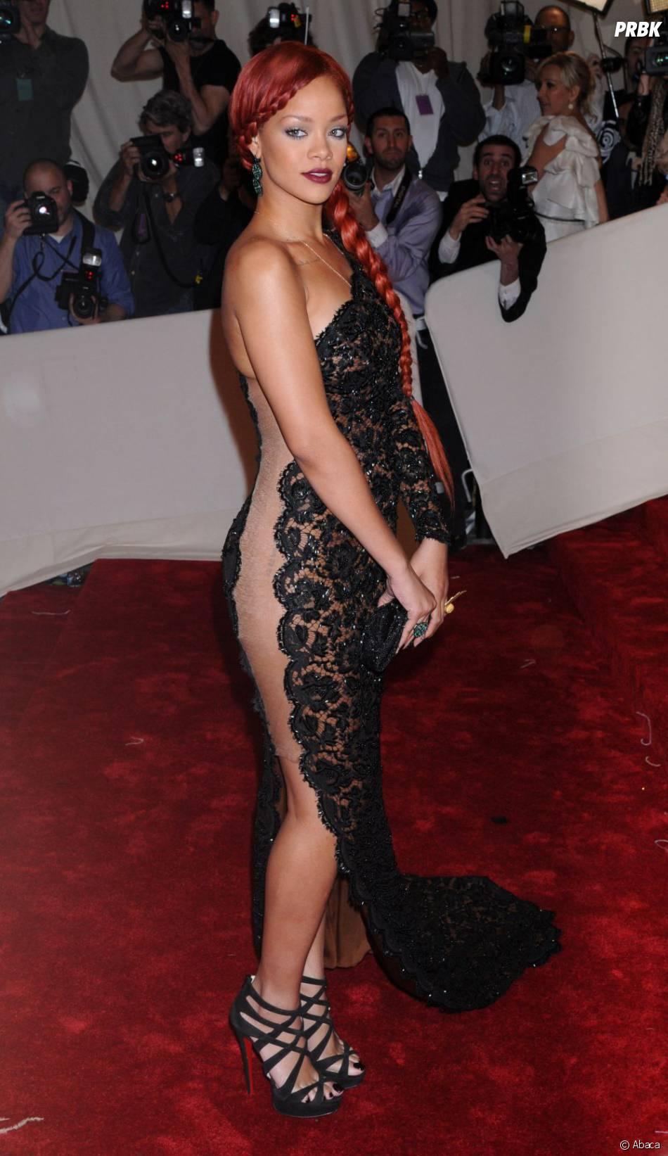 Pas difficile pour la reine de la provoc' Rihanna