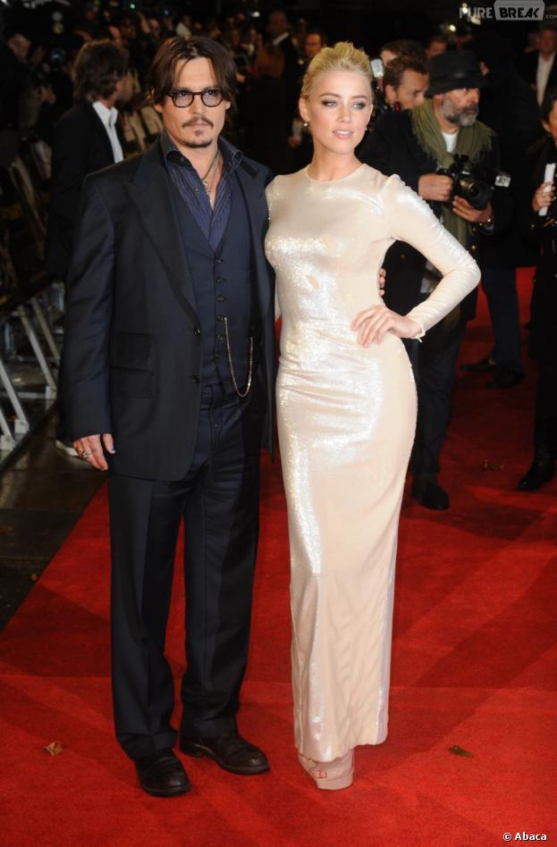Johnny Depp et Amber Heard, de nouveau en couple